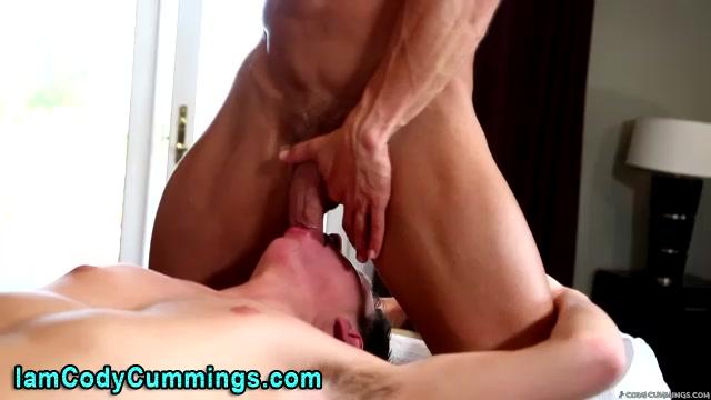Pornstar Cody Cummings sucked by twink