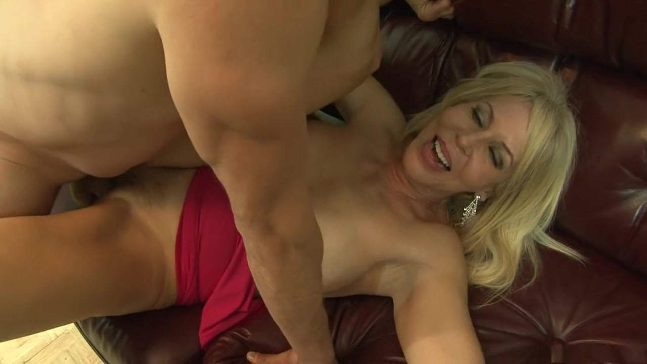 Horny pornstar Erica Lauren in crazy blonde, mature sex clip