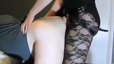 Pegging bisexual cuckold and tranny s