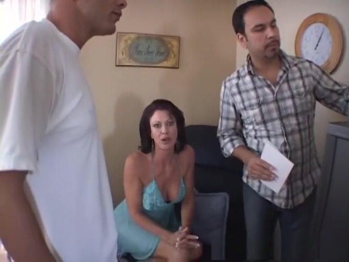 Exotic pornstar Vanessa Videl in best creampie, brunette sex video