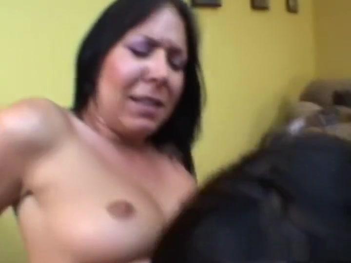 Hottest pornstars Kristina Black and Julie Night in amazing dp, brunette adult scene