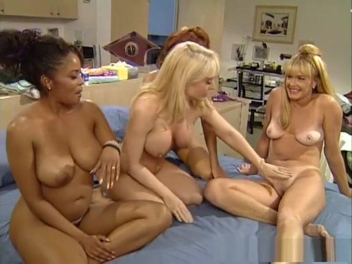 Best pornstars Teri Weigel, Sharon Kane and Jeanna Fine in fabulous outdoor, lesbian adult video
