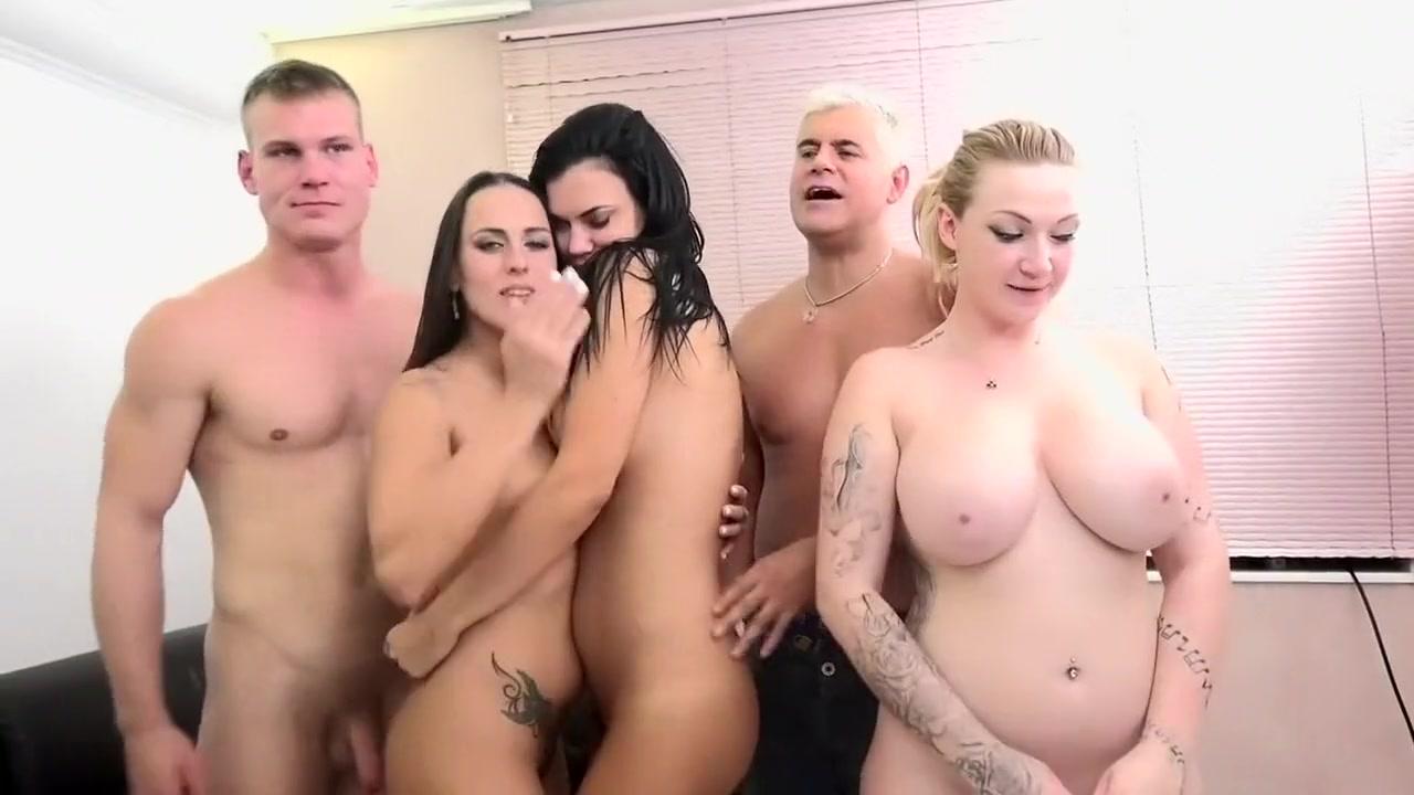 Crazy pornstars Harmony Reigns, Jasmine Jae and Mea Malone in horny blonde, hardcore sex scene