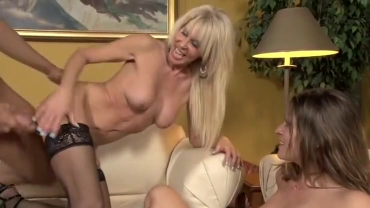 Horny pornstars Carmen McCarthy and Erica Lauren in best big tits, blonde xxx movie