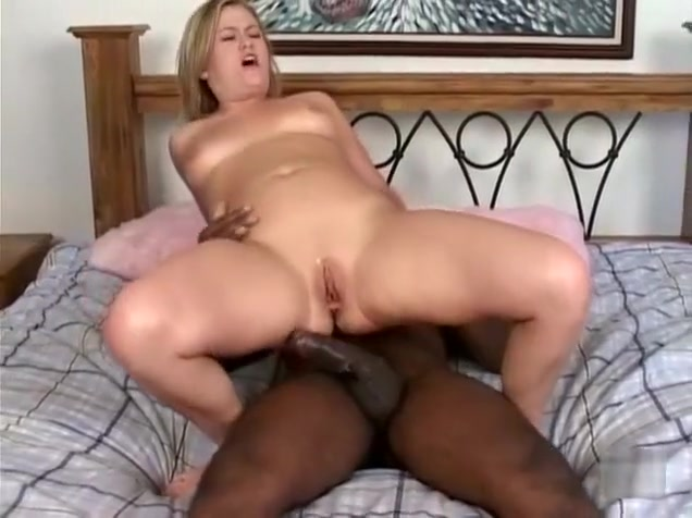 Fabulous pornstar Erika Kole in crazy deep throat, interracial adult movie