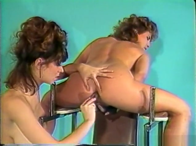 Best pornstars Christy Canyon and Erica Boyer in amazing dildos/toys, hairy adult clip