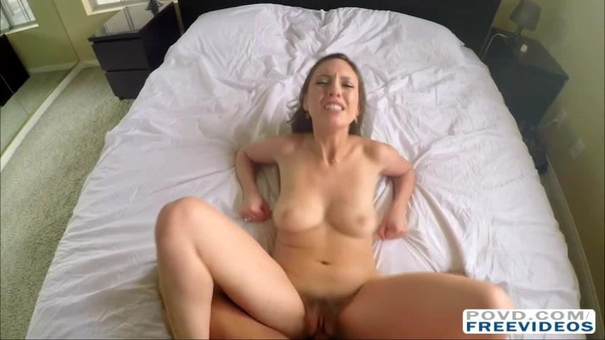 Kinky gf Jade Nile goes hardcore sex filmed in POV with 3D sound