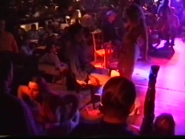 British 90s glamour models lap dancing part 3