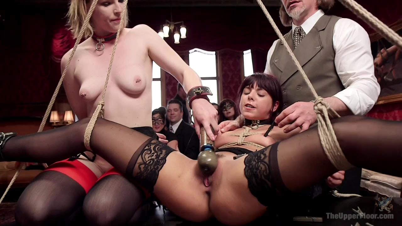 Gina Valentina & Ella Nova & Marco Banderas in 19 Year Old Wet Hole For Service - TheUpperFloor