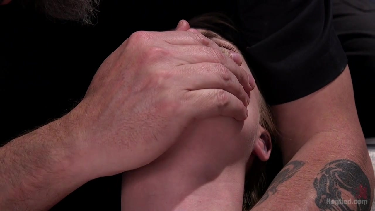 Anna Tyler in Suspension Slut Anna Tyler Succumbs To Squirting Orgasms - HogTied