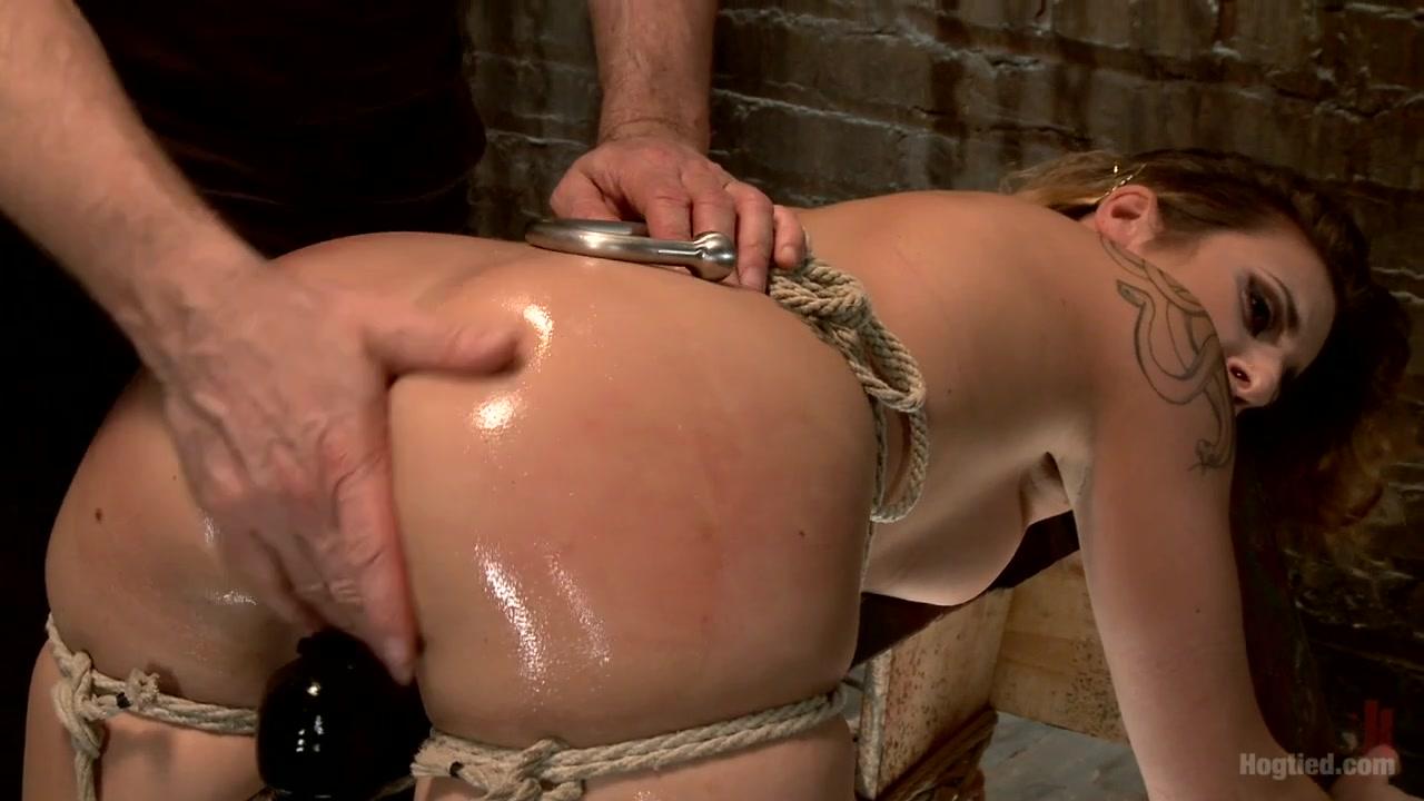 Andre Shakti in Hot Bondage Babe In Brutal Bondage Predicaments - HogTied