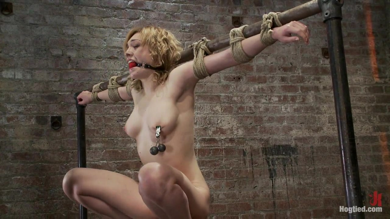 Former Runway & Fashion Model Is Back & Helplesspowerful Orgasms Are Ripped From Her Sexy Pussy. - HogTied