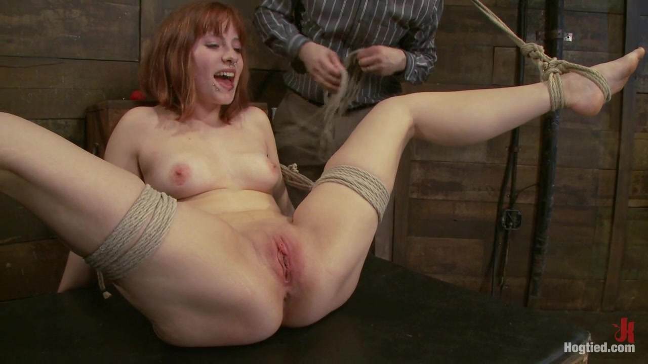 Chamille in Amateur Casting Couch: Chamille - HogTied