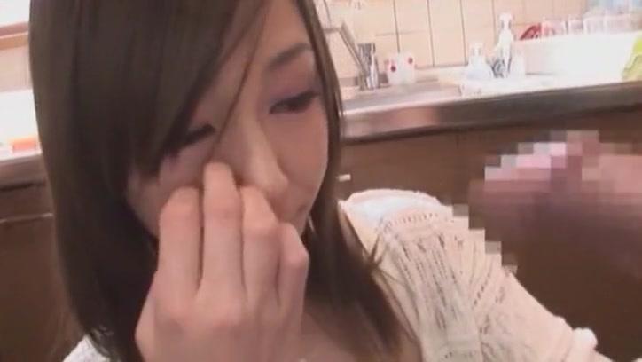 Fabulous Japanese whore Emi Sasaki in Hottest Blowjob JAV clip