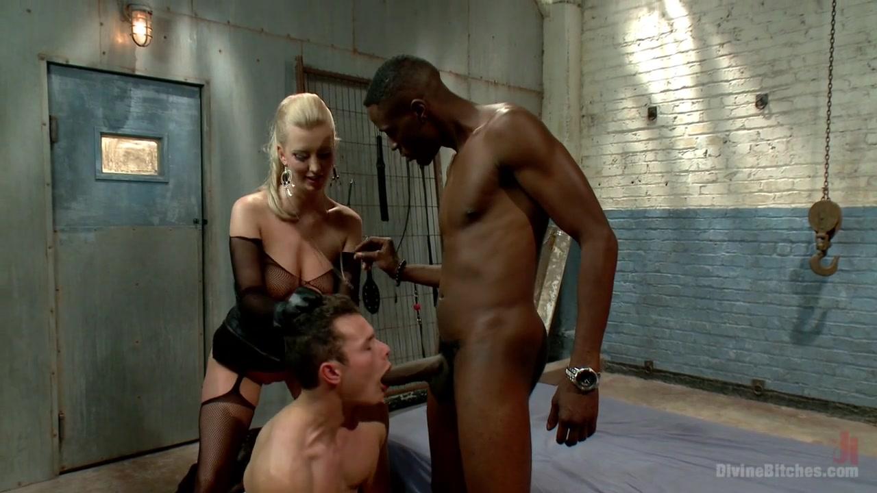 Cherry Torn & Micky Mackenzie & Jason Brown in Interracial Cuckolding - DivineBitches