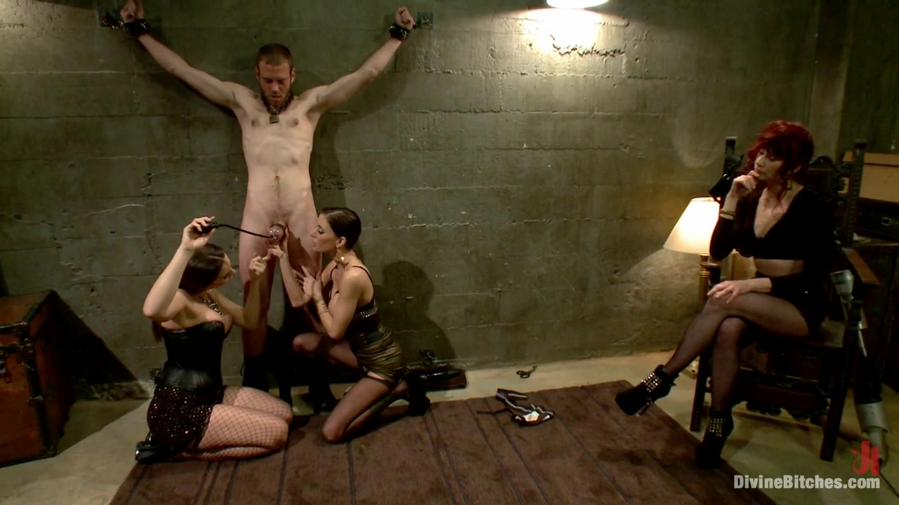 Maitresse Madeline Marlowe & Gia DiMarco & Chanel Preston & Jesse Carl in Milked To The Very Last Drop - DivineBitches