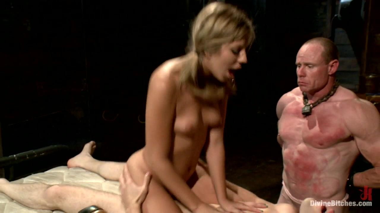 Chastity Lynn & Big Red & Wolf Hudson in Brat Princess Cuckoldress With Chastity Lynn - DivineBitches