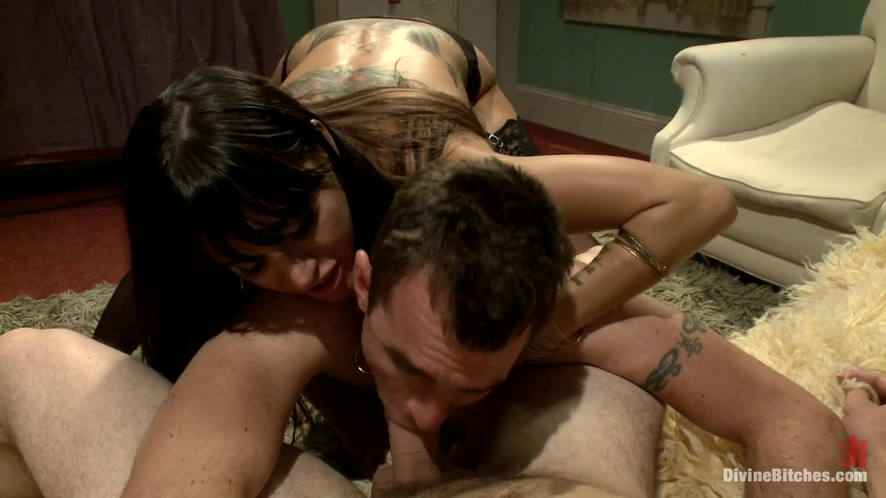 Gia DiMarco & Dietrich Cyrus & Wolf Hudson in Mrs. Dimarco's Loving Cuck-Husband - DivineBitches