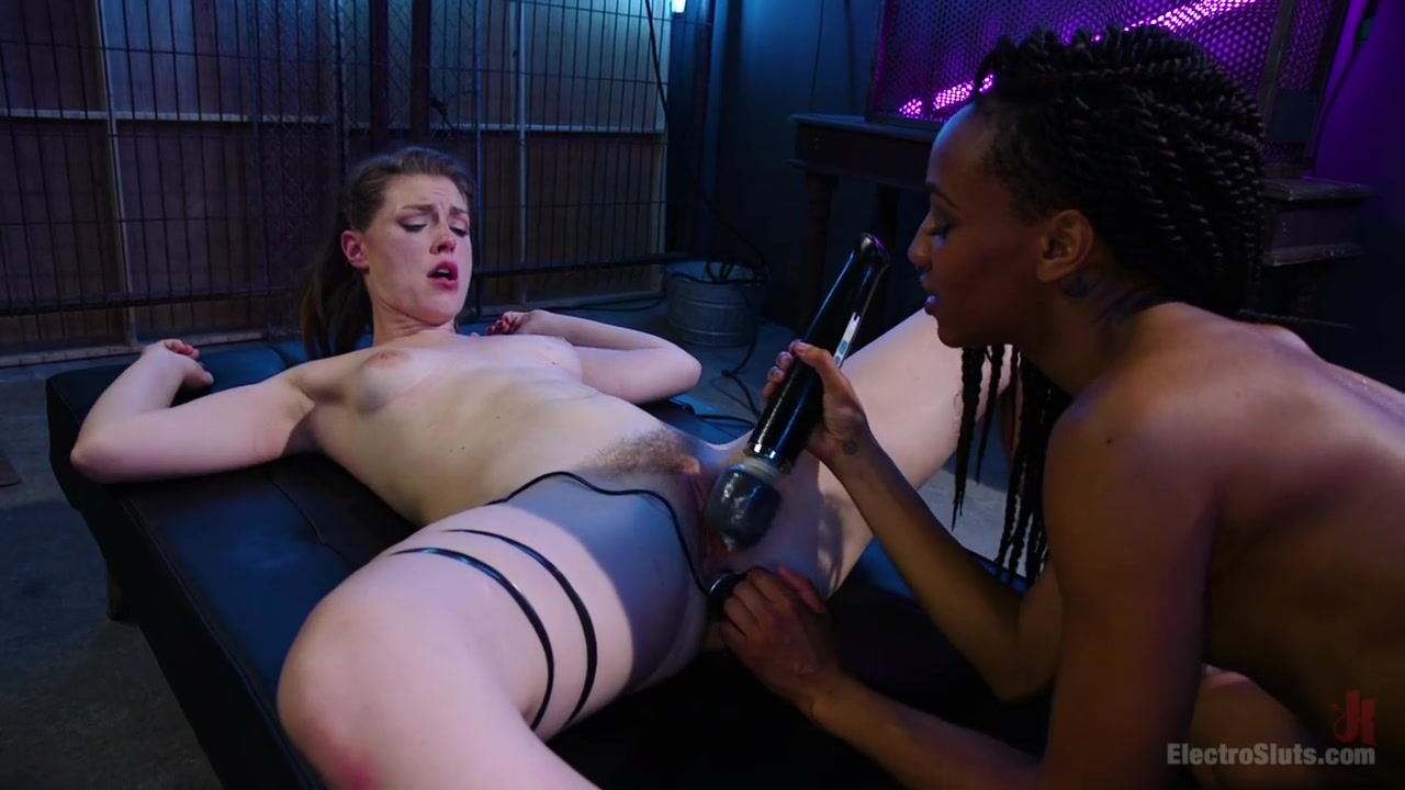 Nikki Darling & Ella Nova in Blonde Princess Electroslut Gets Wrecked With Anal Electricity - Electrosluts