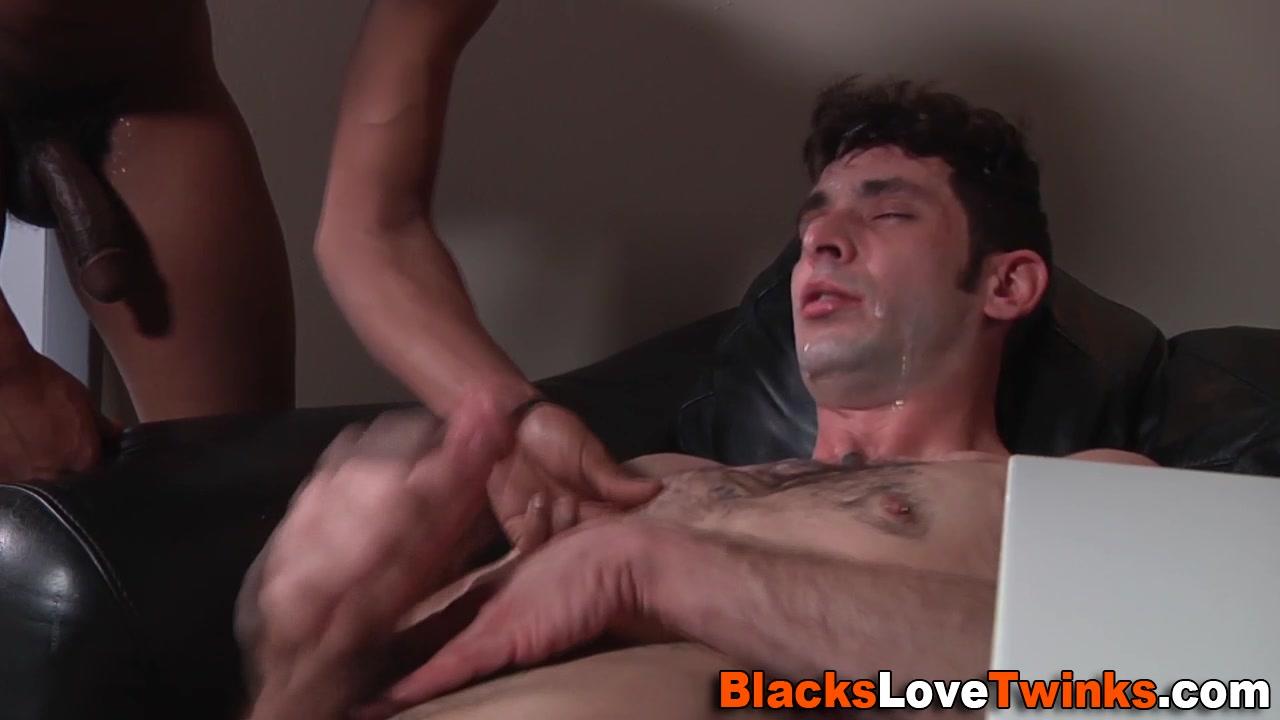 Black cock sprays whiteys
