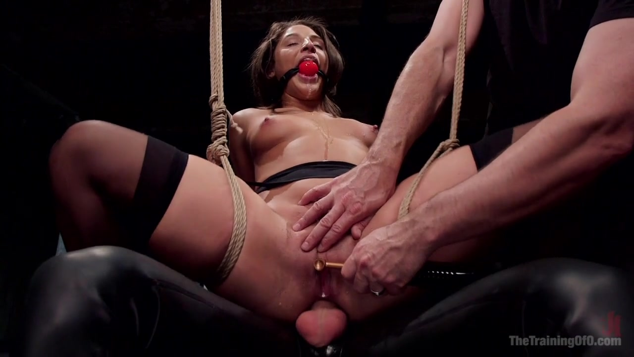 Hardcore Anal in Strict Bondage, 19 Year Old Abella Danger, Day One - TheTrainingofO