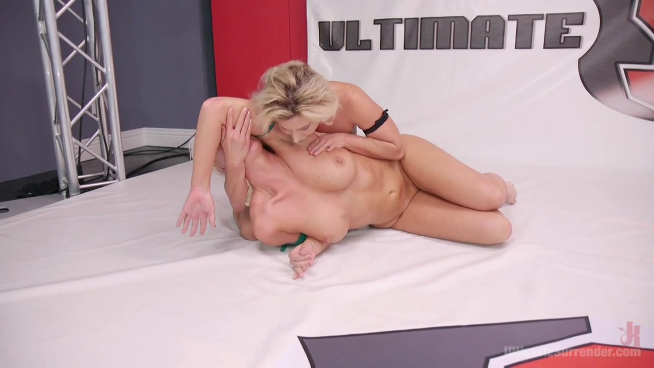 Beautiful, Powerful Blonde Wrestler Is Destroyed On The Mats - Publicdisgrace