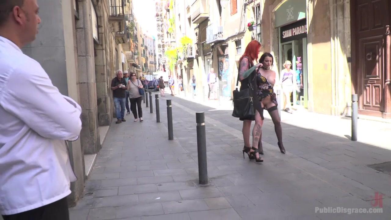 Buxom Brunette Sophia Laure Belittled In Barcelona - PublicDisgrace