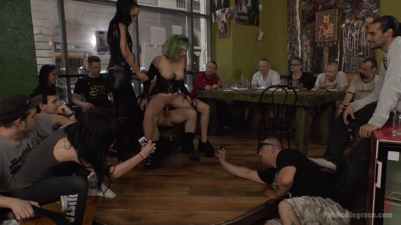 Disobedient Slut Gets Publicly Punished - PublicDisgrace