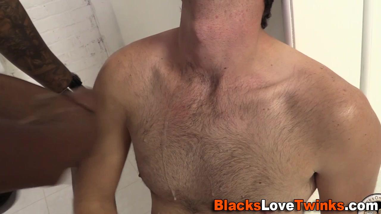 Black cock drills twink