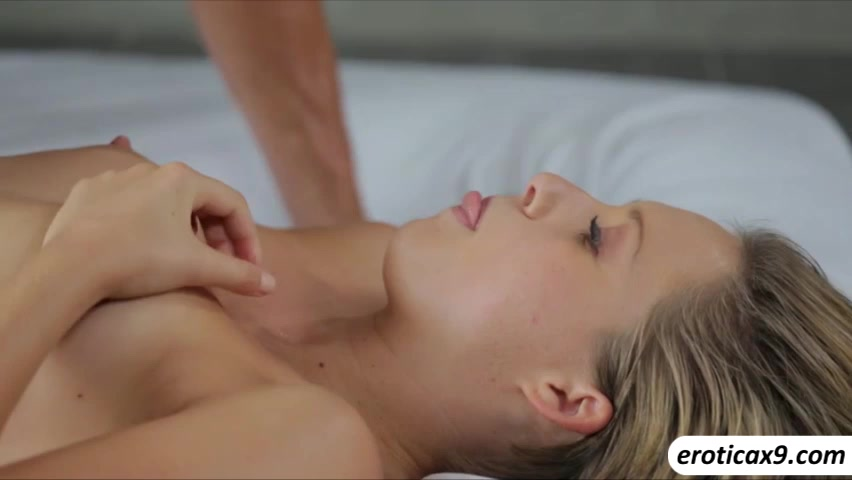 Beautiful Emma Snow moans loudly as she gets sweetly fucked by her man