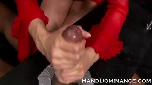 Cock Milked Empty By Nasty Blonde Femdom