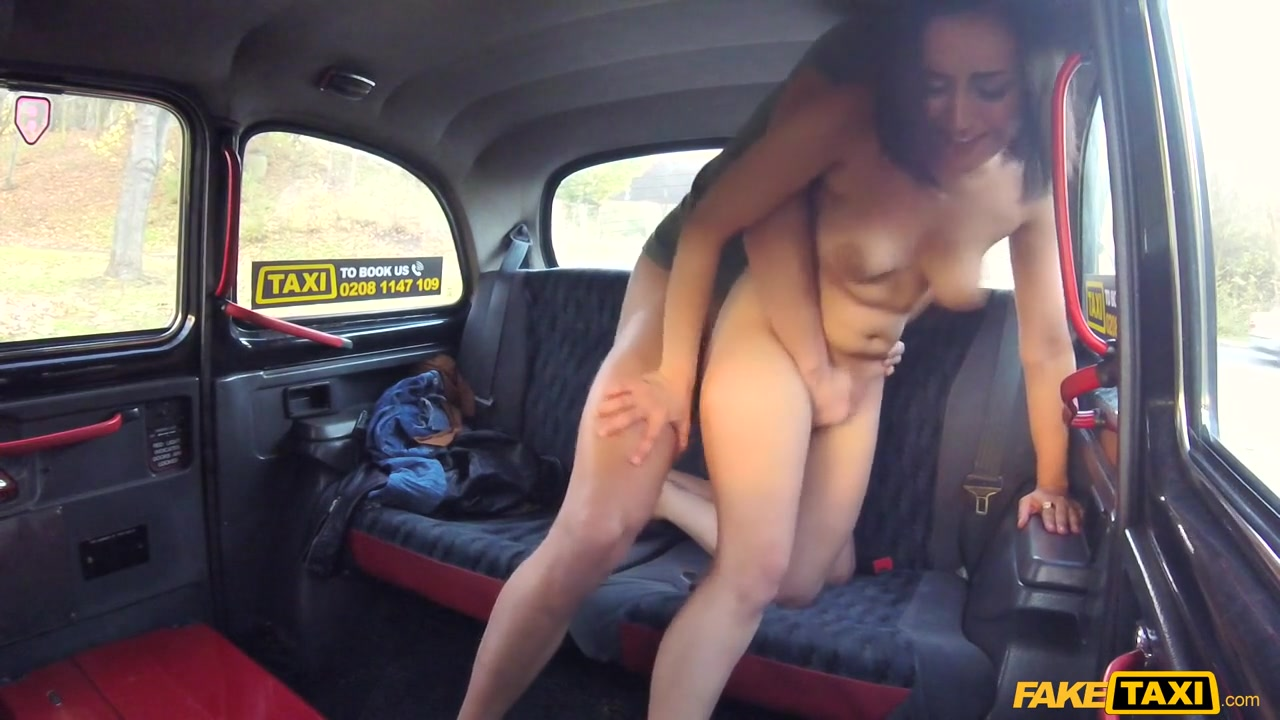 Kristof & Yasmeena in Squirting screaming taxi orgasms - FakeTaxi