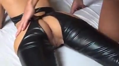 Anal sex in leather