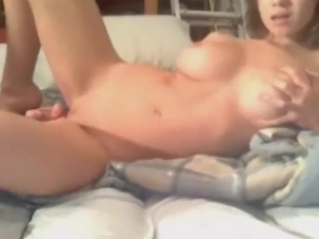 trigger pink tail toy inside tight Asian pussy