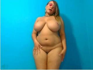 Webcams 2014 - BIG TIT Colombian Teasing