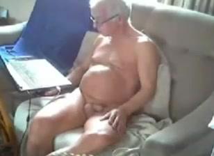 Grandpa in the cam
