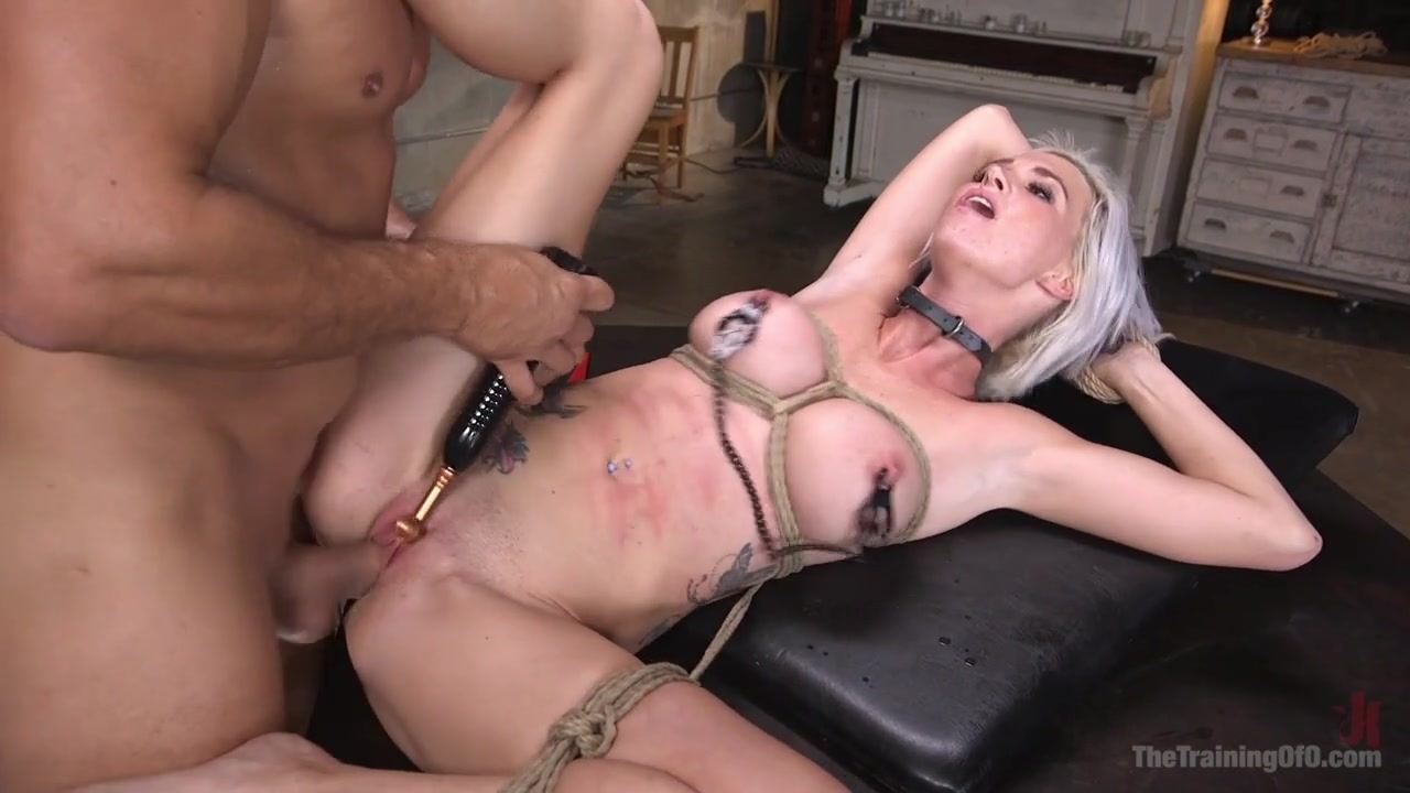 Ramon Nomar,Astrid Star in Sex Slave Astrid Star Submits to Rope Bondage and Extreme Fucking! - TheTrainingofO