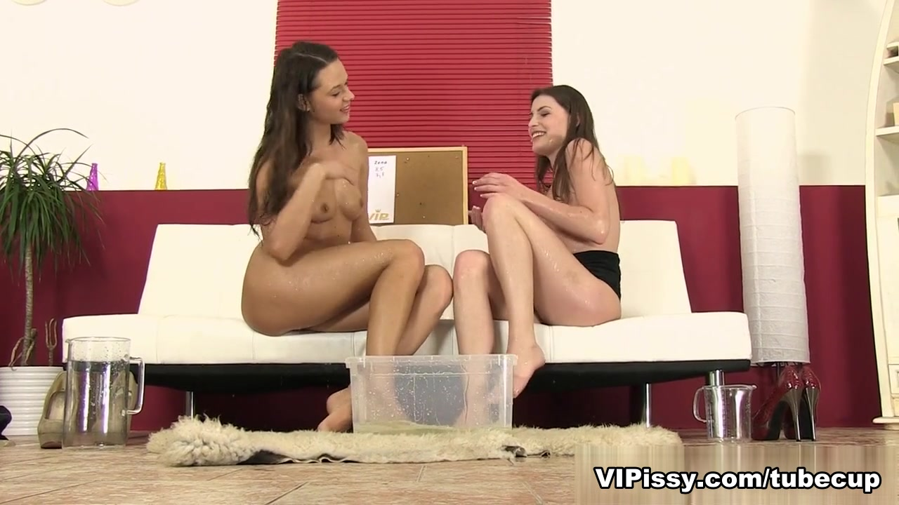 Daphne and Zena in HD Pissing Video The Competition