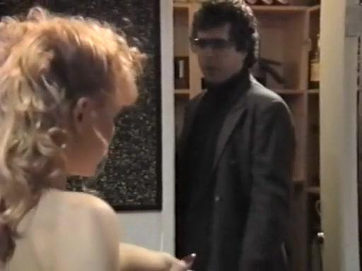 Alicyn Sterling, Angela Summers, David Hughes in vintage xxx scene