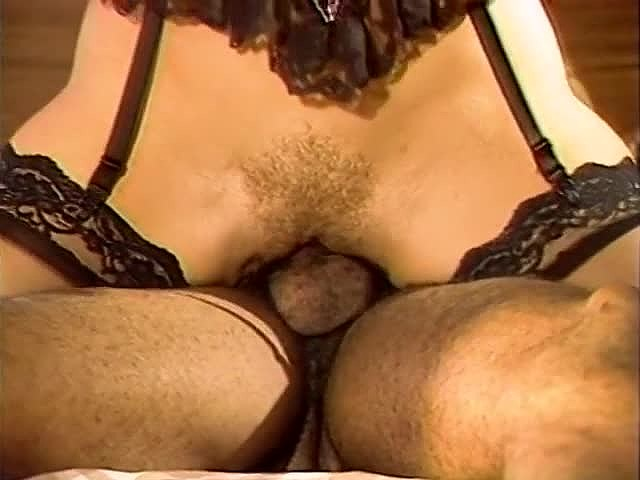 Aja, Gail Force, Kim Alexis in classic xxx scene