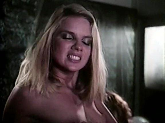 Amber Lynn, Tiffany Clark, Ashley Welles in vintage sex video
