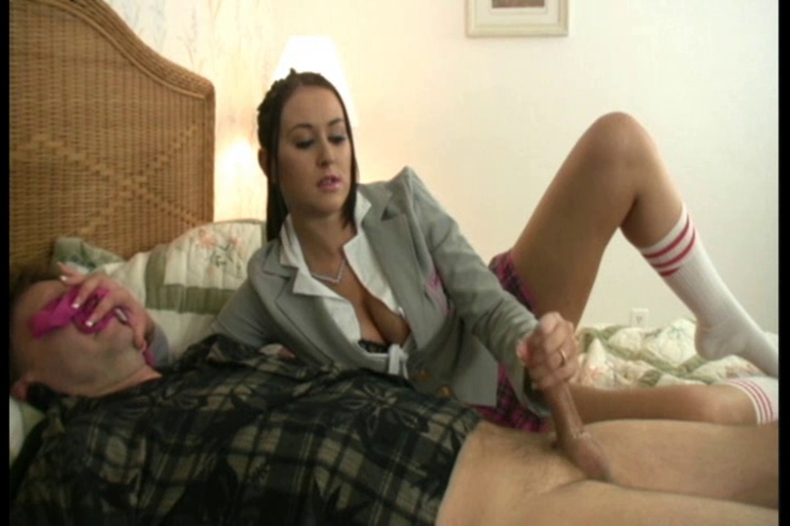 Valuable schoolgirl handjob porn