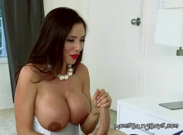 MILF Ariella Gets To Taste A Young Dude She Finds In Her House
