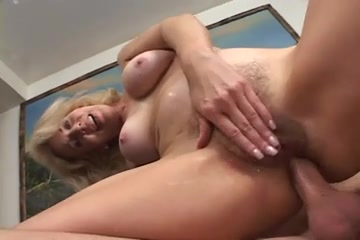 Granny Erica Lauren, Anal with youthful dude