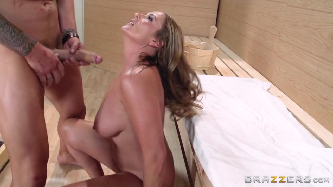 Mommy Got Boobs: I Fucked Yo Mama In The Sauna. Elexis Monroe, Clover