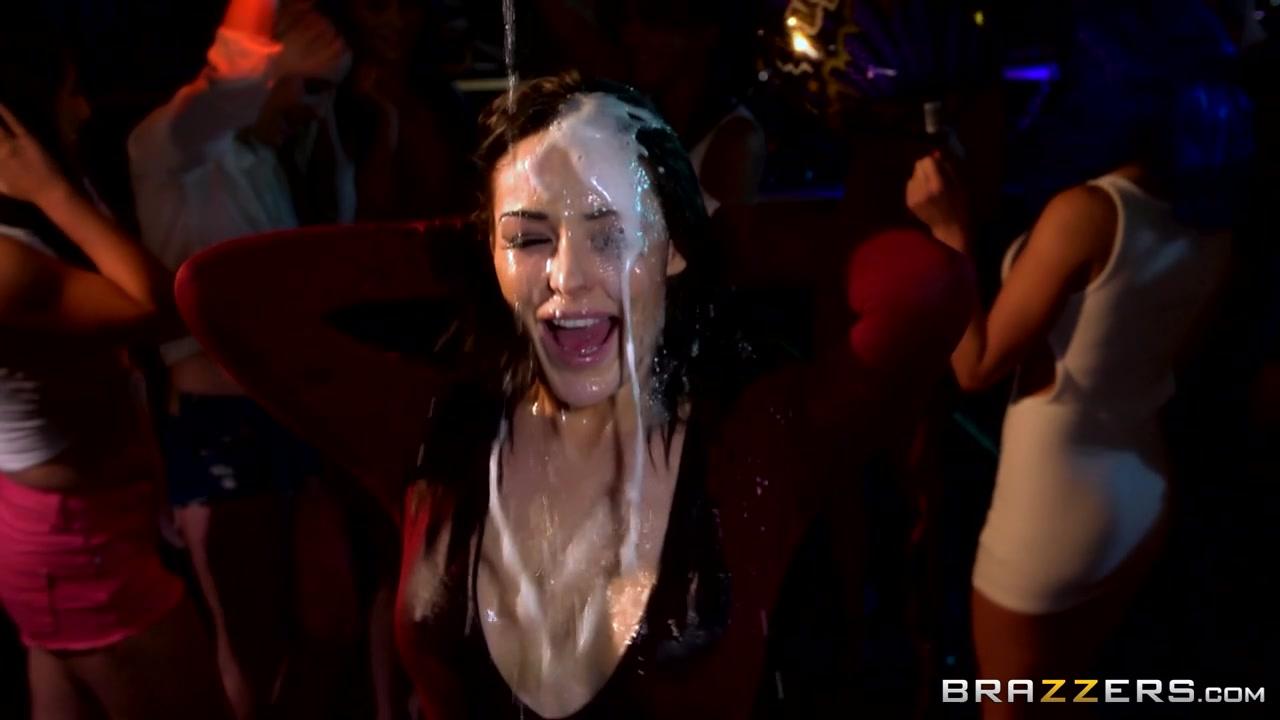 Pornstars Like it Big: Party Facials. Brooklyn Blue, Emma Leigh, Jasmine Jae, Demetri X