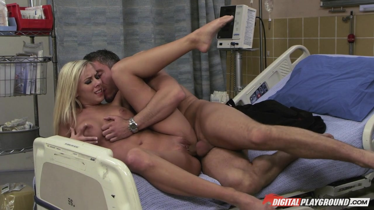 BiBi Jones & Mick Blue  in Nurses 2, Scene 5